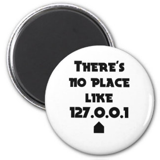 There is No place like Home Magnet