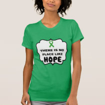 There is no place like HOPE kidney cancer t-shirt