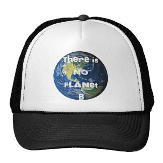"There is no Planet ""B"" Apparel Trucker Hat"