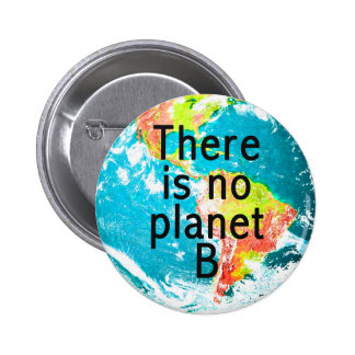 There Is No Planet B Button