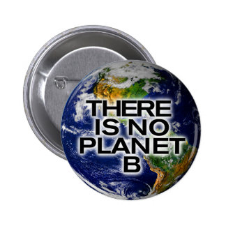 There is no Planet B Environment Awareness Button