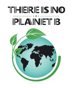 there is no planet b environmental awareness poster