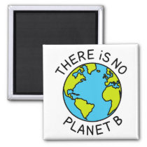 There Is No Planet B Environmental Concept2 Magnet