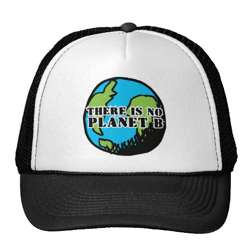THERE IS NO PLANET B MESH HATS