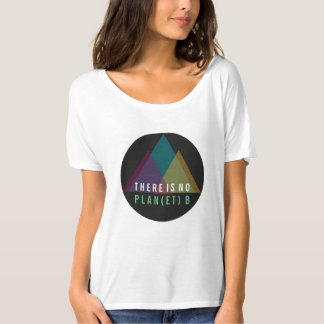 There is No Planet B Mountain TShirt