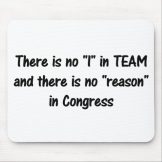 There is no reason in congress b mousepad