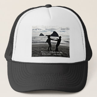 There is no remedy for love, but to love more. trucker hat