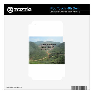 There is no short cut to road of success decals for iPod touch 4G