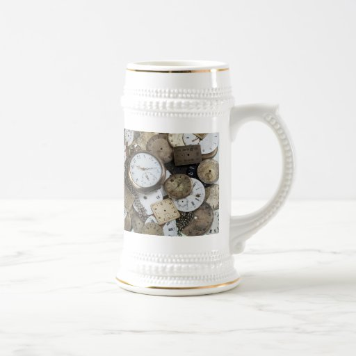 There is no time 18 oz beer stein