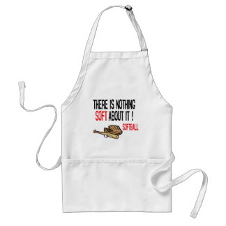 There is Nothing Soft About It! Adult Apron