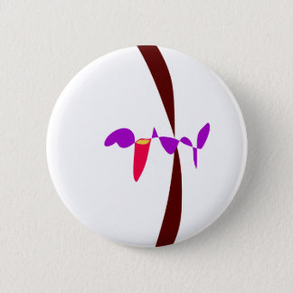 There Is Nothing There Pinback Button