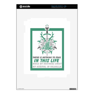 There Is Nothing To Fear In This Life - Valhalla Skin For iPad 2