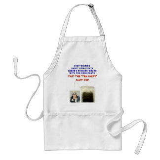 THERE IS NOTHING WRONG WITH DEMOCRATS ADULT APRON
