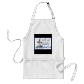 There Is Only One Name Adult Apron