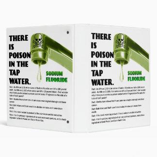 THERE IS POISON IN THE TAP WATER! Binder