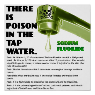 THERE IS POISON IN THE TAP WATER! Poster