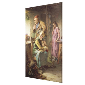 There is sorrow on the sea canvas print