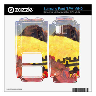 There is the Temple by Eugène Henri Paul Gauguin Samsung Rant Decals