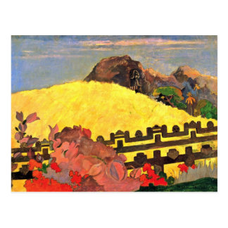 There Is The Temple (Parahi Te Marae) By Paul Postcard
