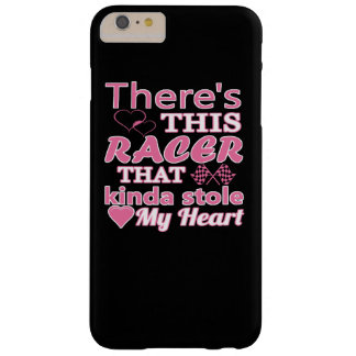 There is this racer that stole my heart barely there iPhone 6 plus case