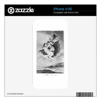 There it goes by Francisco Goya Skins For The iPhone 4