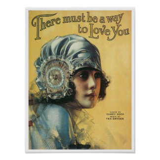 There Must Be A Way To Love You Vintage Songbook C Posters