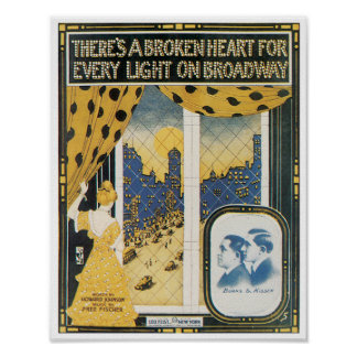 There s a Broken Heart poster