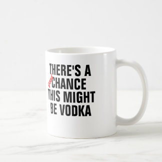 There s a good chance this might be vodka mug