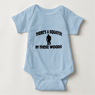 There's A Squatch In These Woods Infant Creeper