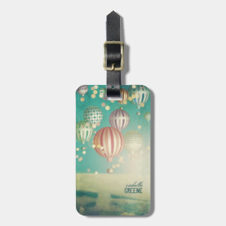 There s magic in the air luggage tag