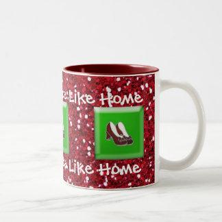 There s No Place Like Home Ruby Slipper Coffee Mug