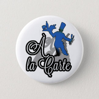 There the Carte Blue Pin/Crachat Pinback Button
