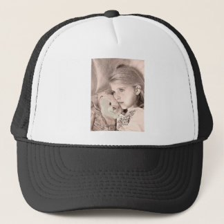 There to help you through the hard times..... trucker hat