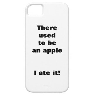 There used to to an apple iPhone 5 case