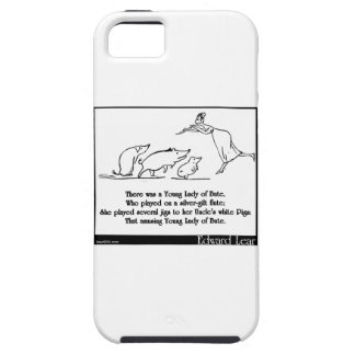 There was a Young Lady of Bute iPhone SE/5/5s Case