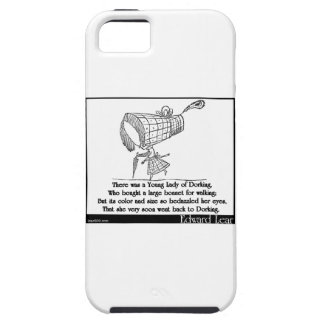 There was a Young Lady of Dorking iPhone 5 Cases