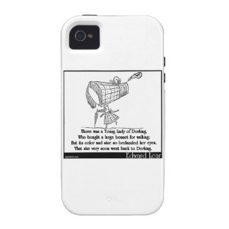 There was a Young Lady of Dorking Vibe iPhone 4 Cover