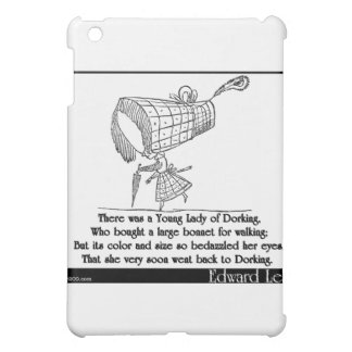 There was a Young Lady of Dorking iPad Mini Covers