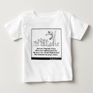 There was a Young Lady of Lucca Baby T-Shirt