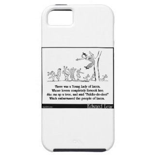 There was a Young Lady of Lucca iPhone 5 Cover