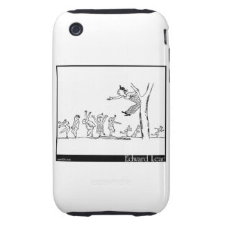 There was a Young Lady of Lucca Tough iPhone 3 Case