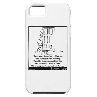 There was a Young Lady of Norway iPhone SE/5/5s Case