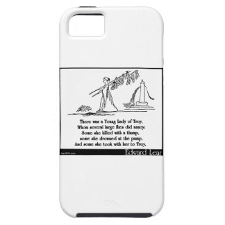There was a Young Lady of Troy iPhone SE/5/5s Case
