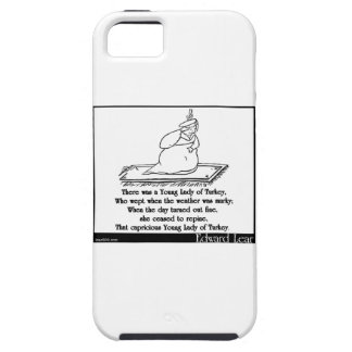 There was a Young Lady of Turkey iPhone 5 Cases