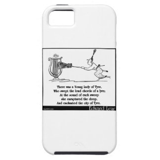 There was a Young Lady of Tyre iPhone SE/5/5s Case