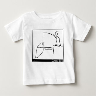 There was a Young Lady of Wales Baby T-Shirt