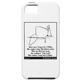 There was a Young Lady of Wales iPhone SE/5/5s Case