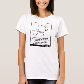 There was a Young Lady of Wales T-Shirt