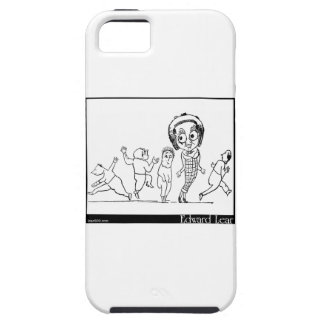 There was a Young Lady whose eyes iPhone SE/5/5s Case