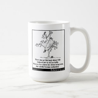 There was an Old Lady whose folly Coffee Mug